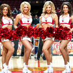 A Cocktail Soiree with NBA Cheerleaders