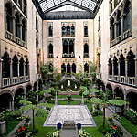 The Courtyard at the Gardner Museum