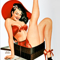 Hundreds of Pinup Girls. Enjoy Them.
