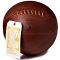 Found: Vintage Leather Basketballs
