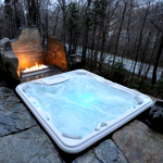 One Overnight Hot Tub, Please