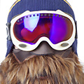 Bearded Ski Mask