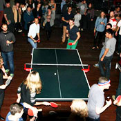 There's Ping-Pong, Beer and Birthday Cake
