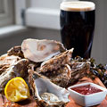A Street of Irish Beer and Oysters