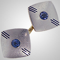 The Item: Art Deco Cufflinks