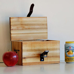 Cedar + Walnut Lunch Box