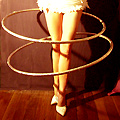 Burlesque Hula-Hooping at Coco