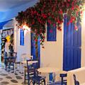 Food Truck Souvlaki in a Greek Village