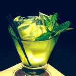 Southie Julep at Stephi's in Southie