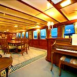 Aboard the USS Sequoia