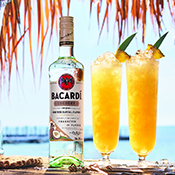 A CLASSIC TROPICAL COCKTAIL. ONLY BUBBLY.