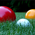 Winter Bocce Taking Teams
