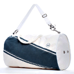 A Duffel Bag Made Out of Sailboats