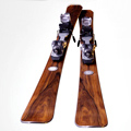 August Zweydinger Rosewood Skis