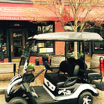 This Golf Cart Will Take You to Bars