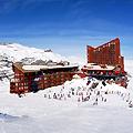 Valle Nevado, Near Santiago, Chile