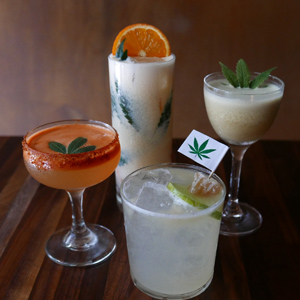 To Tacolicious, for Crab and CBD-Infused Cocktails