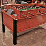 A '50s Foosball Table