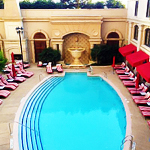 The Pool Piazza at the St. Regis