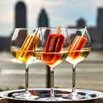 Boozy Ice Pops. On a FiDi Rooftop.