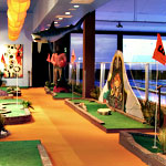 A Round of Putt-Putt at Strike Miami