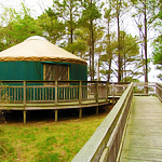 The Only Yurt in the VA Park System