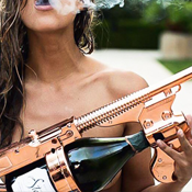 Your Very Own Champagne Gun