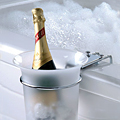 Hey, a Tub-Side Champagne Chiller