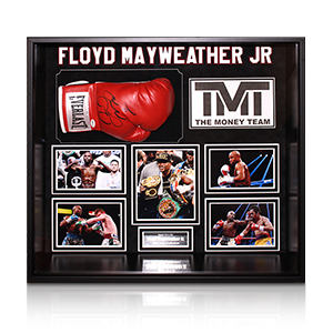 Mayweather, Pacquiao and Ali Signed These