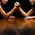 Lady Arm-Wrestling at Mystic Celt