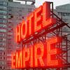 Chodorow's Empire Hotel Rooftop Menu