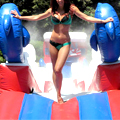 A Pop-Up Water Park with Boxing