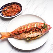 Italian Seafood, Meet Mina Test Kitchen