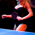 Topless Ping-Pong Tournament