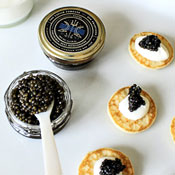The Caviar Flights You Want at Parties