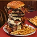 Eagles Deli's Burger Challenge