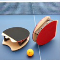 Your Hands: Now Ping-Pong Paddles