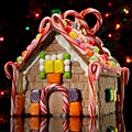 Gingerbread House Opening at Marriott