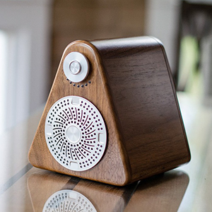 High-Tech Speakers With Old-School Charm