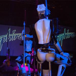 Sapphire Has Stripper Robots