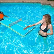 FLOATING PING-PONG TABLES