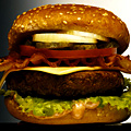 Radius Burger Goes Halfsies