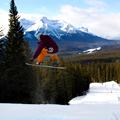 Training Like a Stuntman at Lake Louise