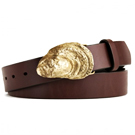 This Oyster Shell Belt Buckle