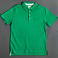 A Masters-Green Polo from Billy Reid
