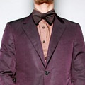 Lanvin's Plum Two-Piece Suit