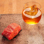A Filet and an Old Fashioned In One Convenient Mouthful