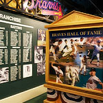 Braves Hall of Fame Exhibit