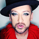 Tomorrow: Boy George at Wall. Yep.