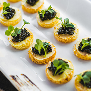 L'Appart Serves You Caviar On A Patio Now